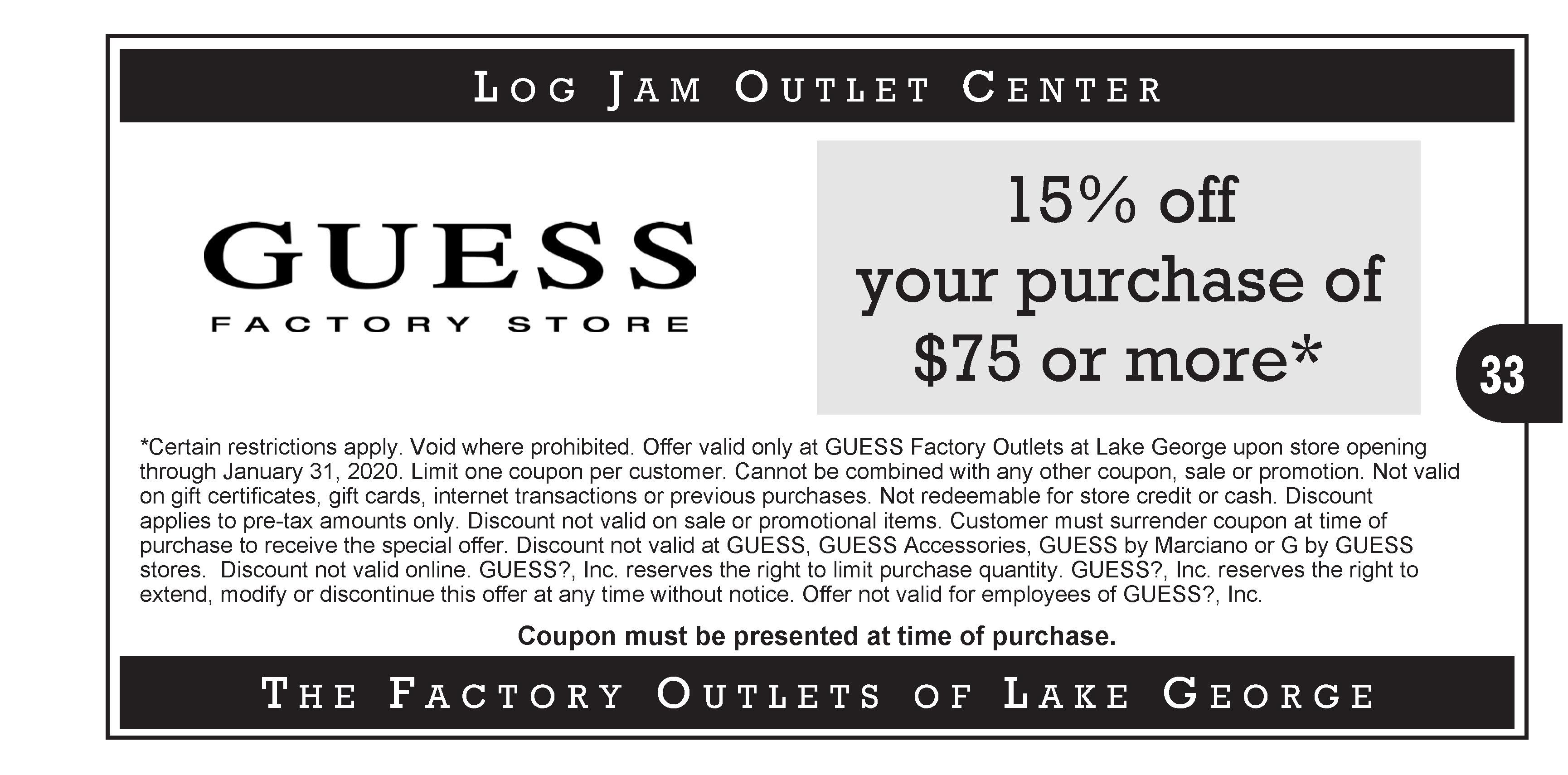 logjam lake george coupons