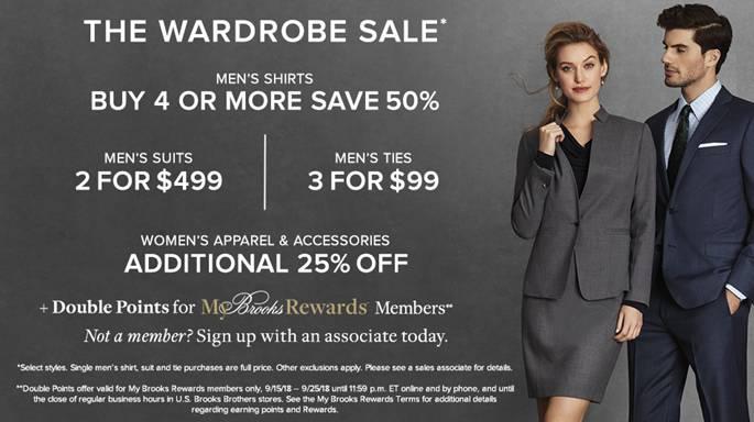 Wardrobe Sale