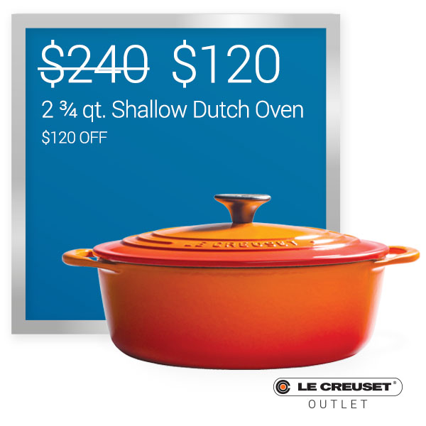 Shallow Dutch Oven