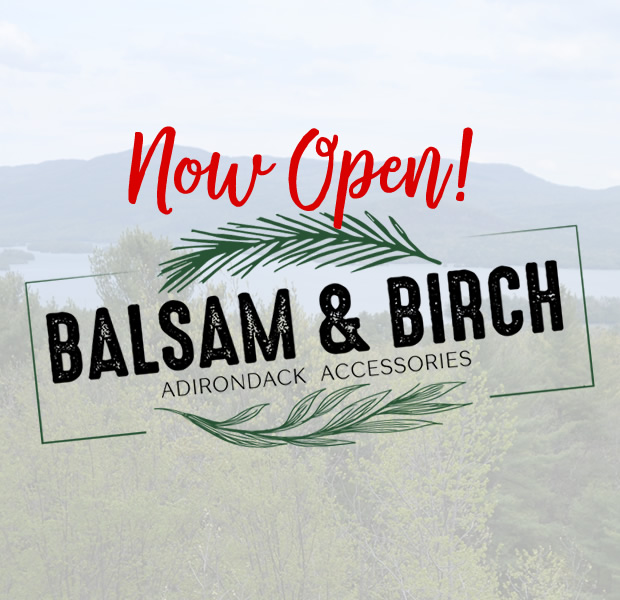Balsam and Birch - Now Open!