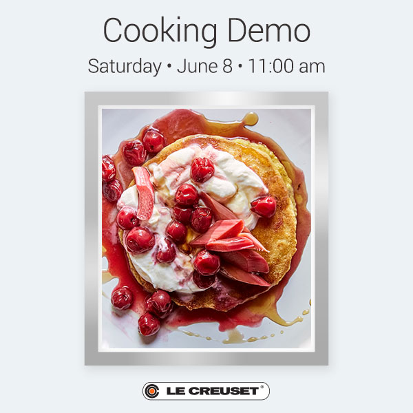 Sarah Copeland Cooking Demo!
