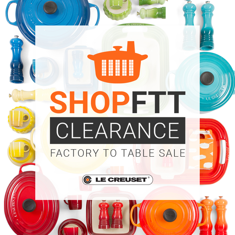 Factory to Table Clearance Sale